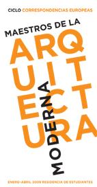 Maestros de la arquitectura moderna, en directo