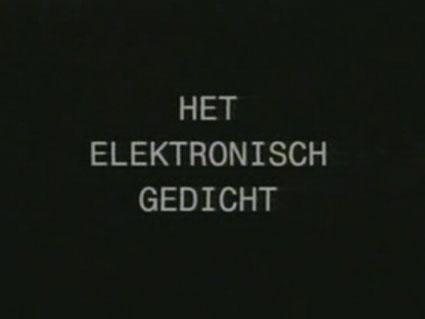 Poeme Electronique