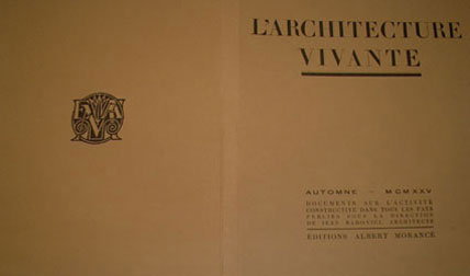 L'Architecture Vivante