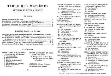 L'Architecture Vivante, 1924. Otoño-Invierno (núms. 5-6)