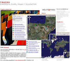 Mapas y Web 2.0 en arquiteXtonica