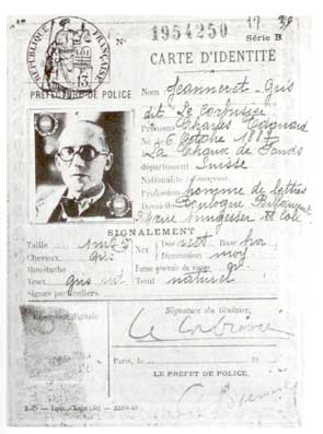 """Charles Édouard Jeanneret-Gris dit """"Le Corbusier"""""""