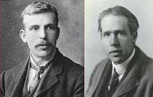 Sir Ernest Rutherford & Niels Bohr